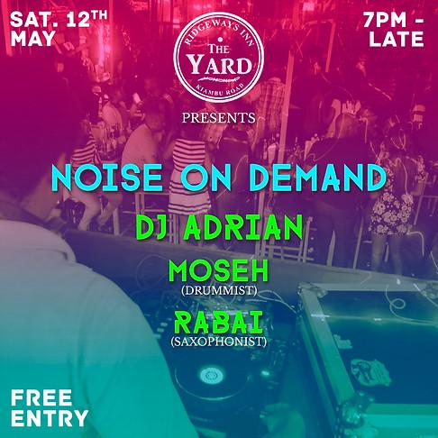 Noise On Demand at the Yard, Ridgeways Inn, Kenya