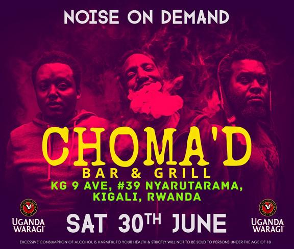 NOD Poster @ Choma'd, Kigali #001