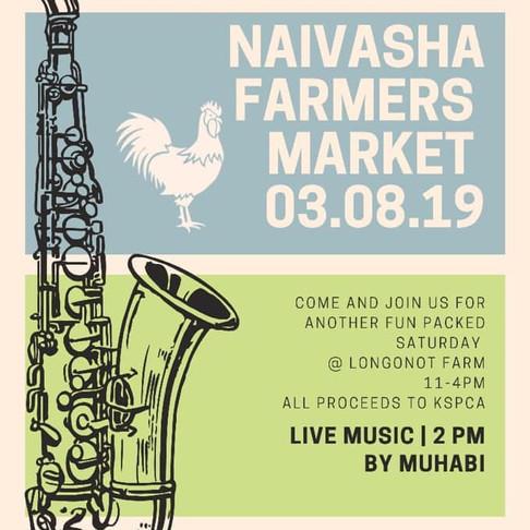 Naivasha Farmers Market - Aug. 3rd 2019
