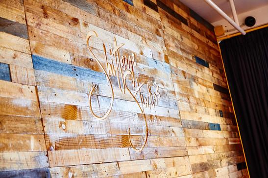 Shifteye Studios Pallet Wall