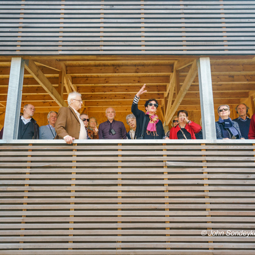 Architectuurexcursie Zuid-Limburg Oost, met Topos 2018, Jeanne Dekkers door John Sondeyker_DSC5052