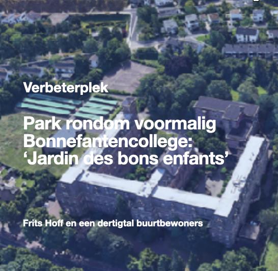 Park rondom voormalig Bonnefanten college