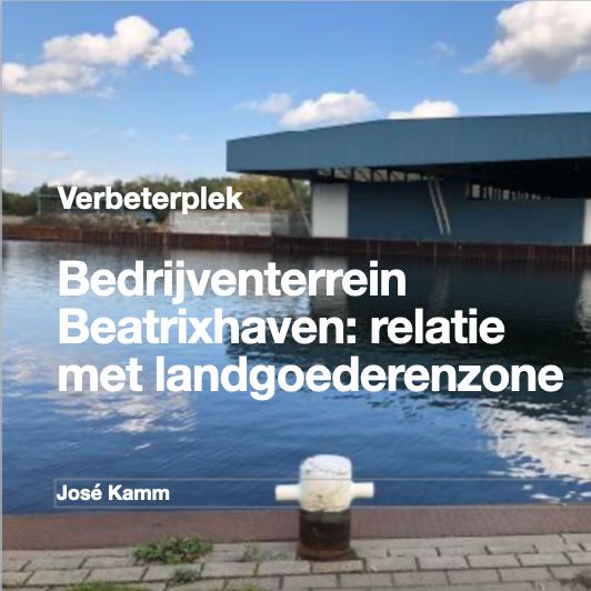 Bedrijven terrein Beatrixhaven