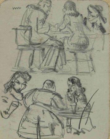 Soldaten in de Pub 1942