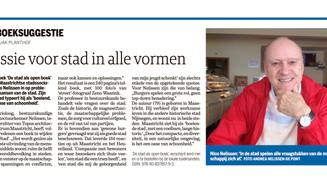 """De Boeksuggeste van 'De Limburger"""": Passie voor stad in alle vormen"""