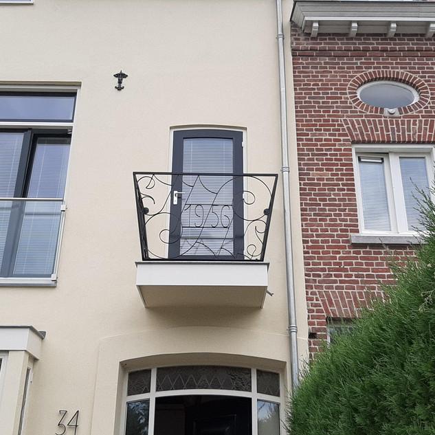 Motto- Balkon 1956