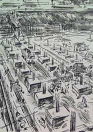 Set 03.Vrijthof bouw parkeergarage1970
