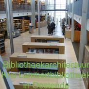 Bibliotheek architectuur - Kris Lambert bibliotheek in Oostende