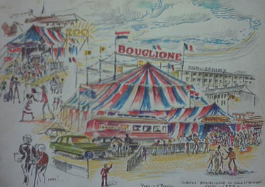Set 05. Circus Boschstraat 1974