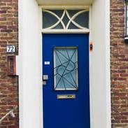 Motto- Blauwe deur in Wittevrouweveld