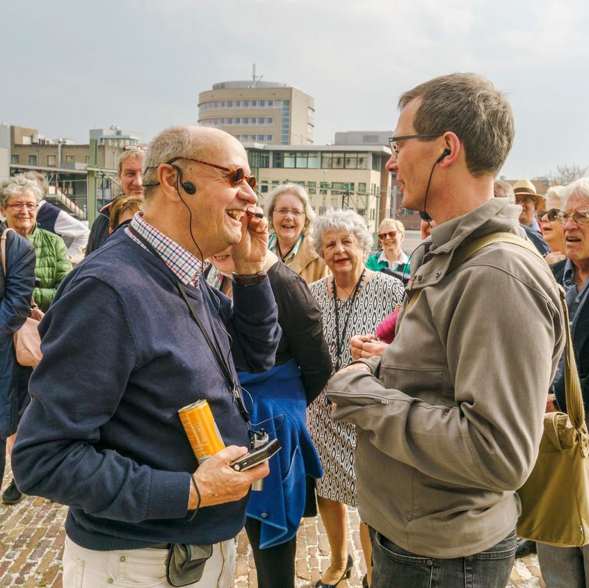Architectuurexcursie Zuid-Limburg Oost, met Topos 2018, Nico Nelissen in Heerlen door John Sondeyker_DSC5357