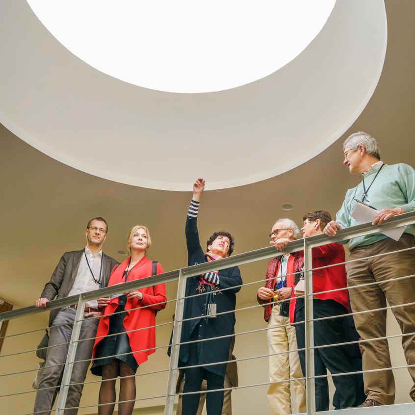 Architectuurexcursie Zuid-Limburg Oost, Topos 2018, Jeanne Dekkers door John Sondeyker_DSC5080