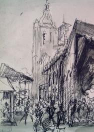 Set 09. St Matthiaskerk Boschstraat 1958