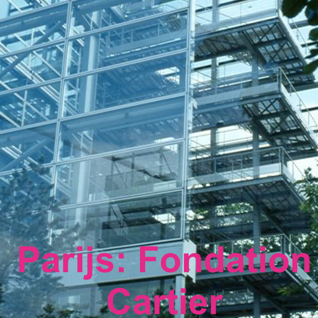 Parijs: Fondation Cartier