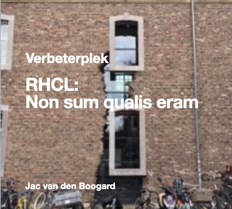 RHCL- Non sum qualis eram