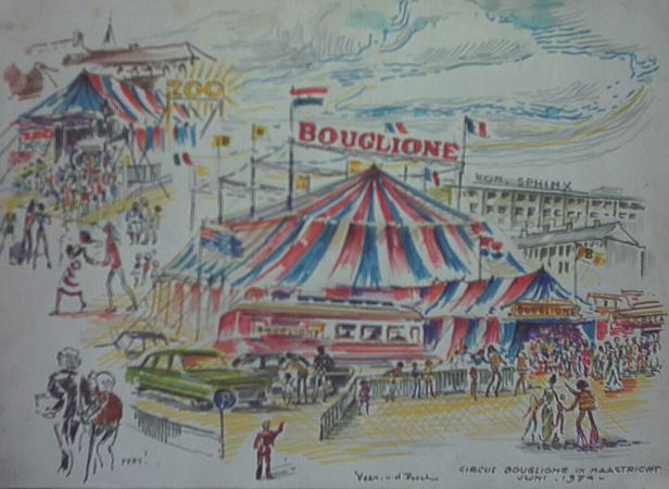 Circus Boschstraat 1974