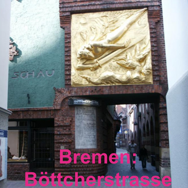Bremen Böttchenstrasse