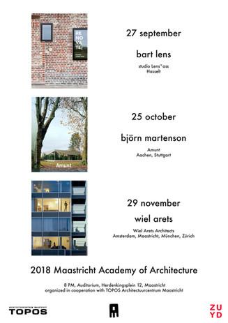 Architectuurlezingen herfst 2018