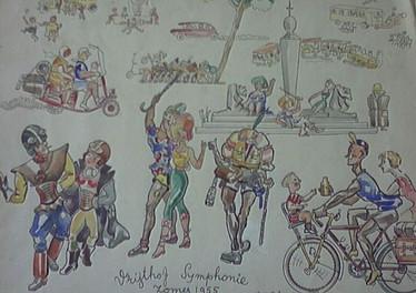 Set 10. Impressies van Vrijthof 1955