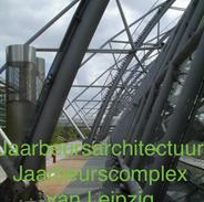 Jaarbeurs architectuur Jaarbeurs complex van Leipzig
