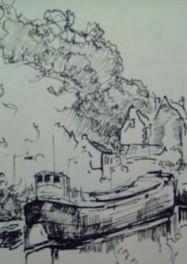 Set 06. Kanaal bij ENCI - St. Pieter
