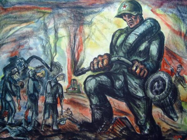 Front in Rusland 1944