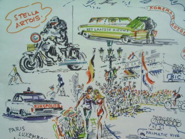 Markt wielrennen 1970