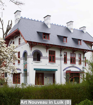 Art Nouveau in Luik (B)