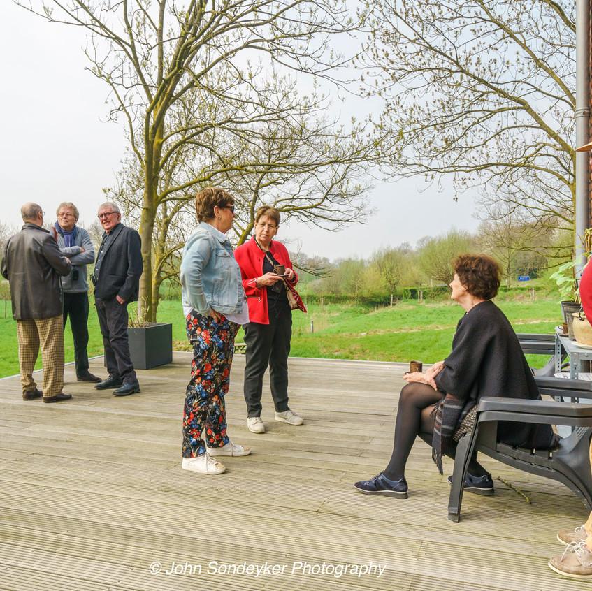 Architectuurexcursie Zuid-Limburg Oost, Topos 2018, Bij Jeanne Dekkers door John Sondeyker_DSC5121