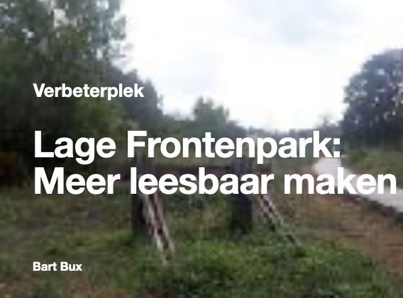 Lage Frontenpark
