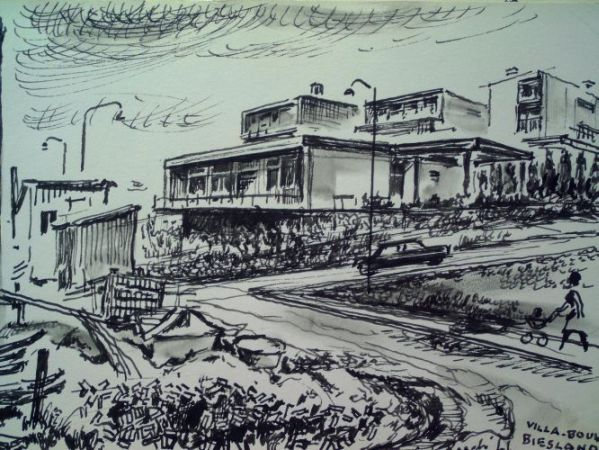 Villabouw Biesland 1966