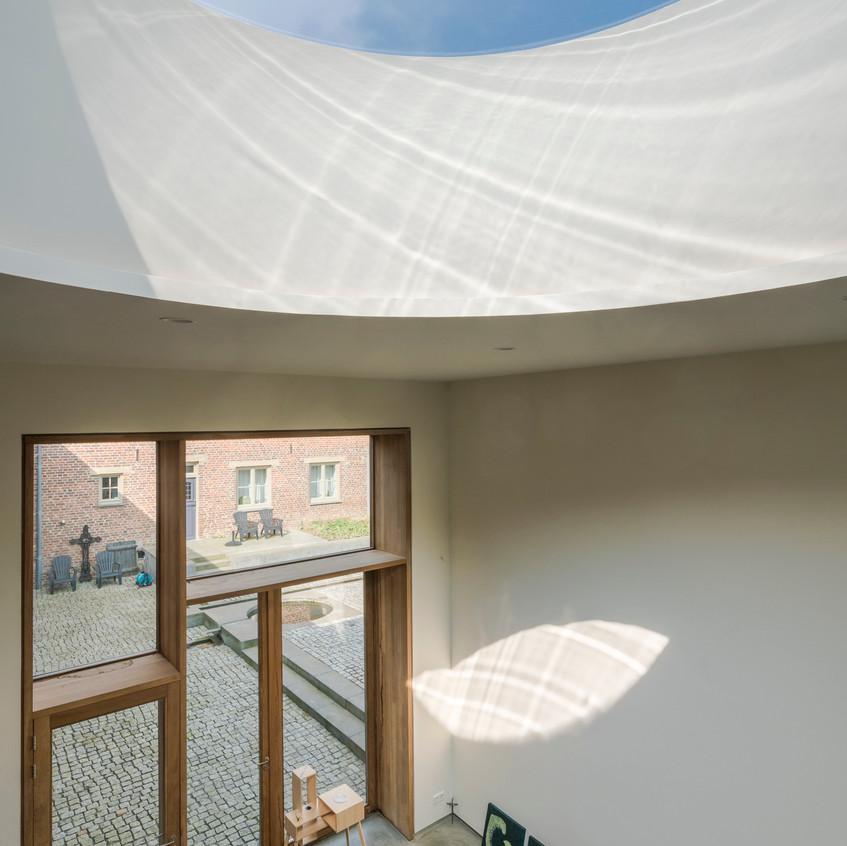 Architectuurexcursie Zuid-Limburg Oost, Topos 2018, Jeanne Dekkers door John Sondeyker_DSC5088