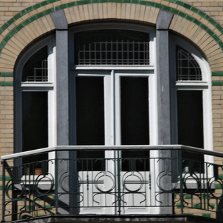 Motto- Balkon Wilhelminasingel