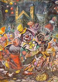 Set 10. Carnaval op Vrijthof 1961.