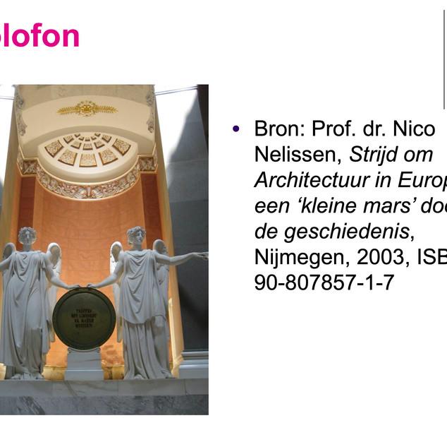 Colofon