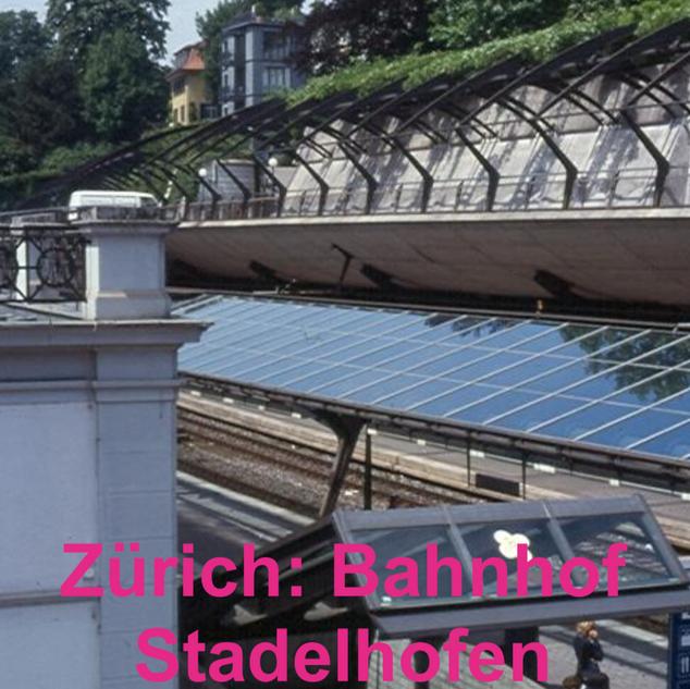 Zürich: Bahnhof Stadelhofen