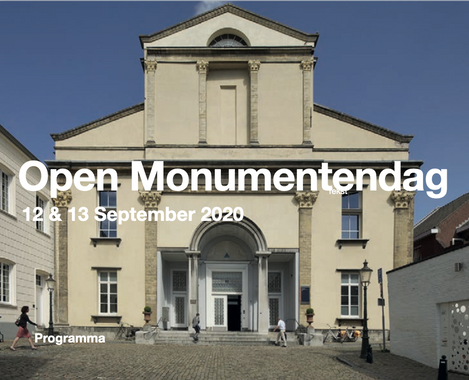 Open Monumentendag 12 & 13 September 2020