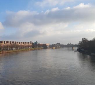 Winters Maastricht in coronatijd, 'n sfeerimpressie