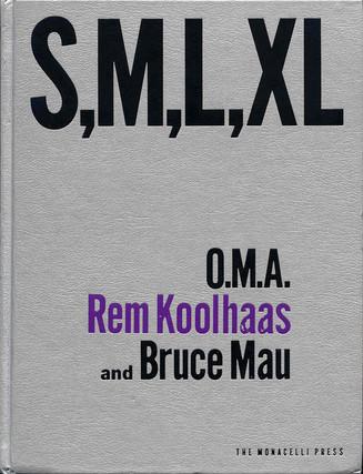 'Mijn leestip voor Architectuurliefhebbers': O.M.A, Rem Koolhaas en Bruce Mau S,M,L,XL