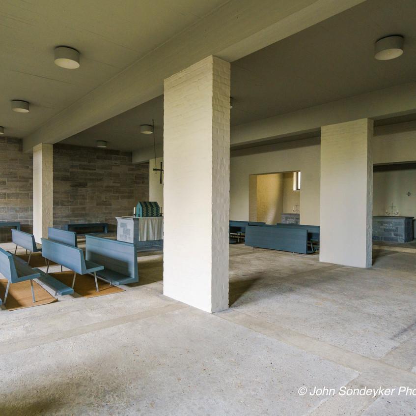 Architectuurexcursie Zuid-Limburg Oost, Topos 2018, Dom Hans van der Laan door John Sondeyker_DSC5156