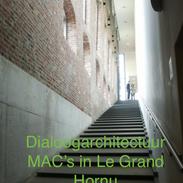 Dialoog architectuur MAC'€™s in Le Grand Hornu