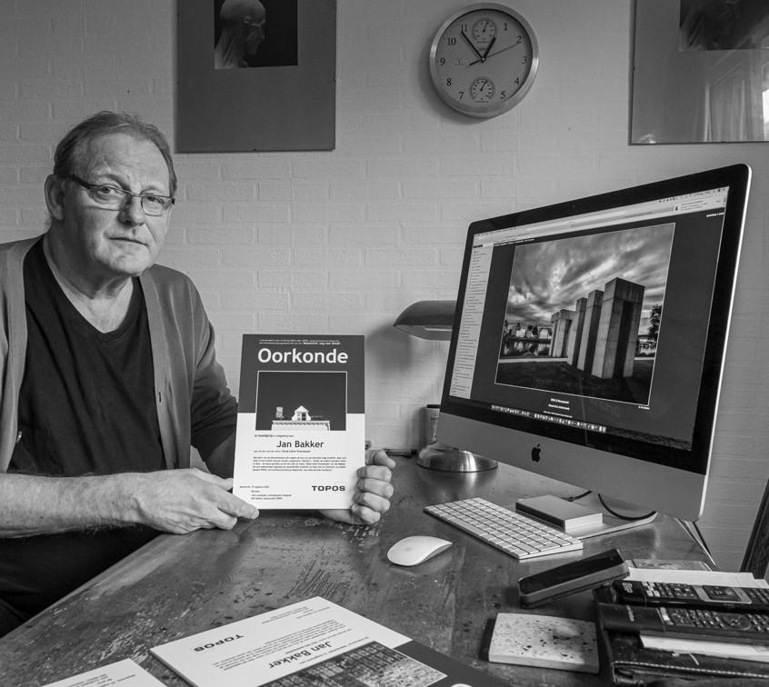 Jan Bakker winnaar fotowedstrijd Oog voo