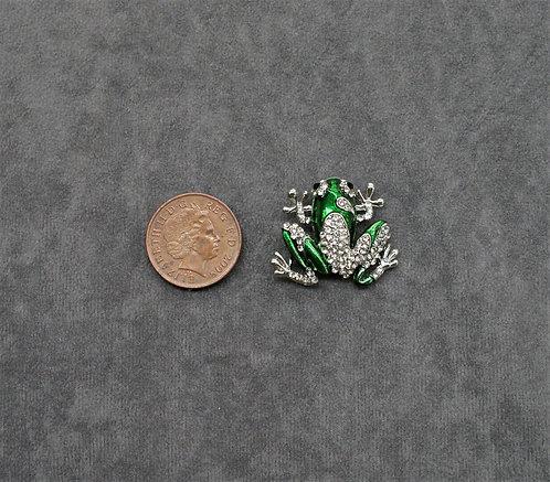 Small Frog Brooch