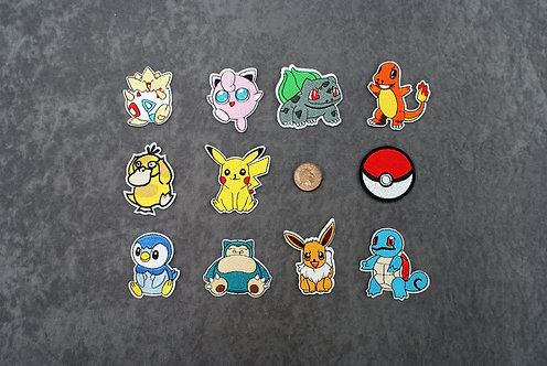 Poke Iron On Patches