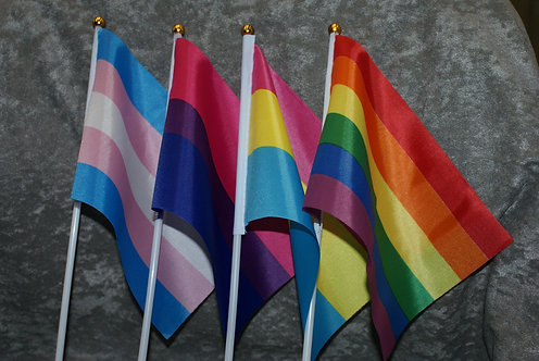 Pride Hand Flags