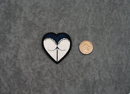 Heart Butt Patch