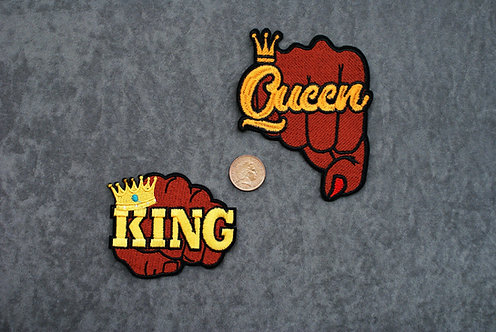 Drag King/Queen Iron on Patch