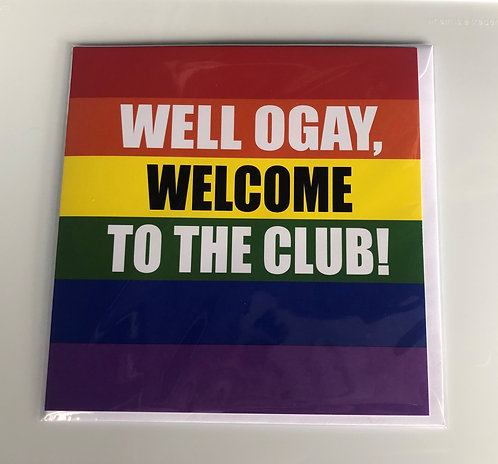 Coming Out Card