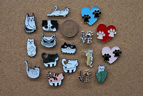 Cat Pins 1