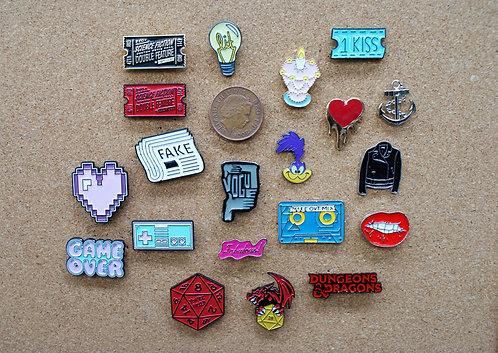 Retro Pins 1